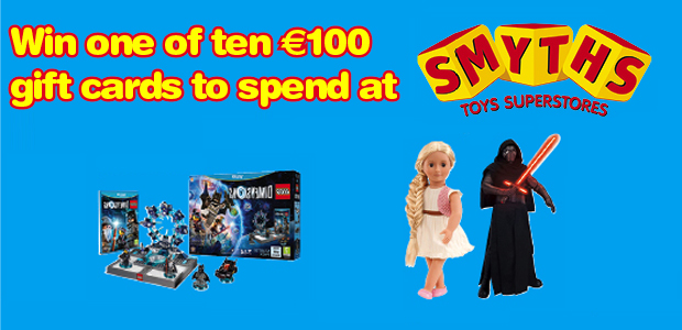 win one of 10  u20ac100 gift cards for smyths